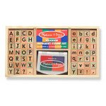 Alphabet Stamps and Pad