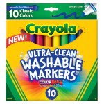 Crayola Washable Markers 10 Count