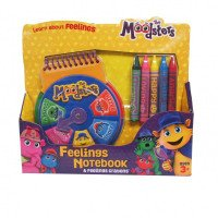 Feelings Notebook & Feelings Crayons
