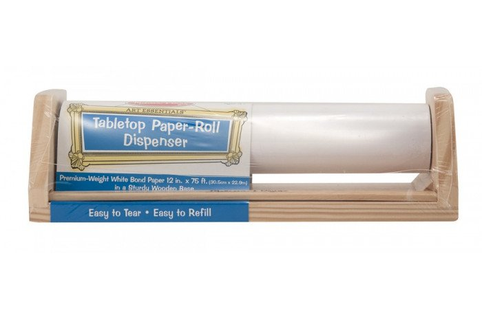 Tabletop Paper Dispenser with Paper