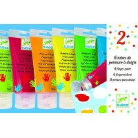 Set of 6 Finger Paints
