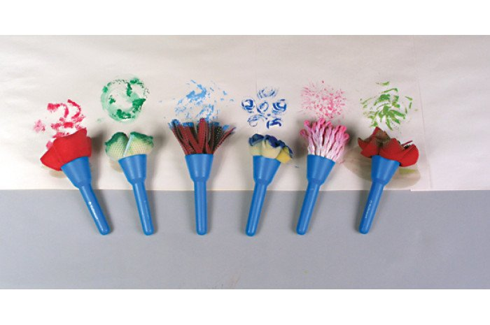 Fabric Brushes - set of 6