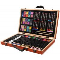 Portable 80 Piece Deluxe Art Set