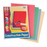 Construction Paper (88 Sheets)