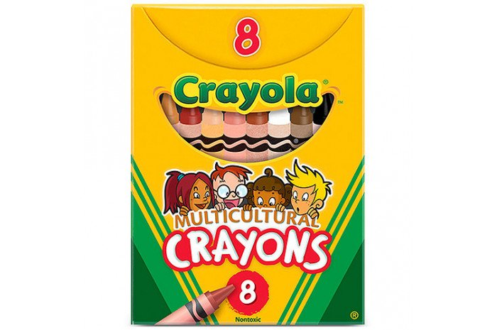 Multicultural Skin Tone Crayons
