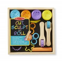 Cut, Sculpt and Roll Tools & Clay