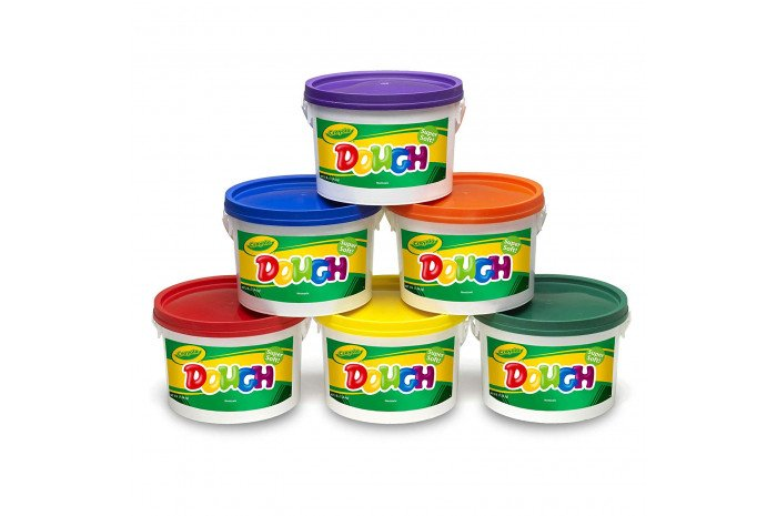 Crayola Dough 3lb - set of 6