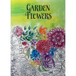 Garden Flowers: An Adult Coloring Book