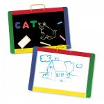 Magnetic Chalk and Dry Erase Board with Accessories