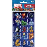 Superhero Stickers (Pack of 4 Sheets)