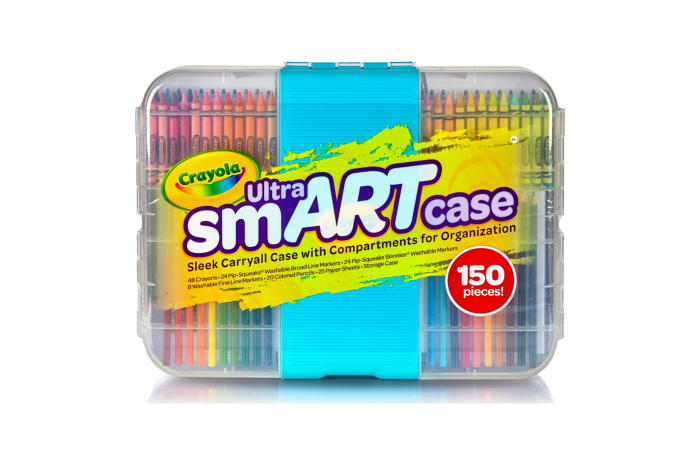 Ultra smART Case Portable Art Set
