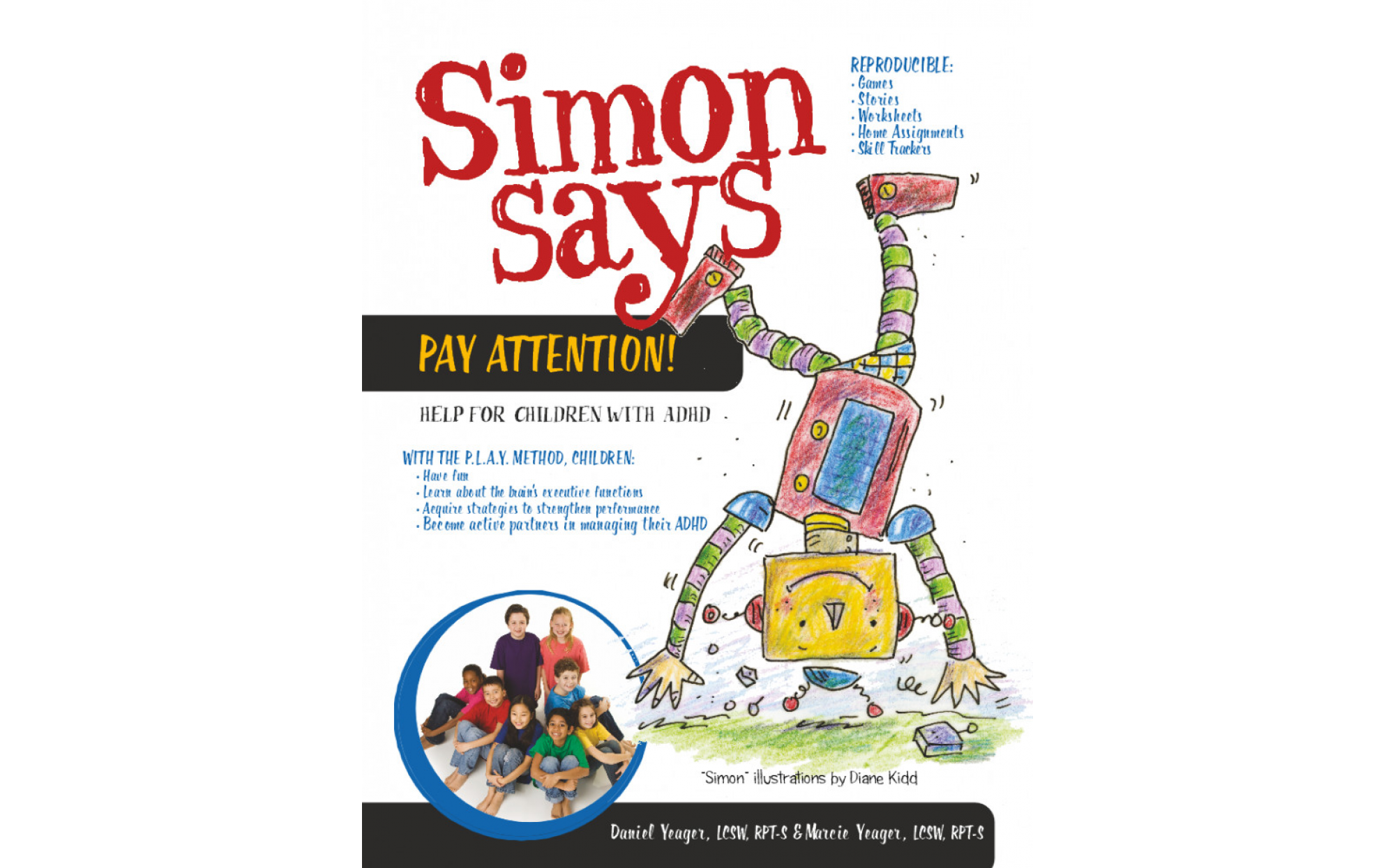 Simon Says Pay Attention Help For Children With Adhd Books