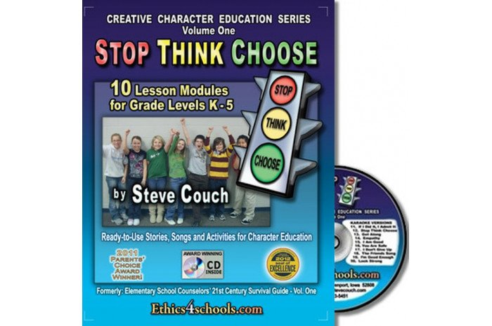 Stop Think Choose Activity Book with CD