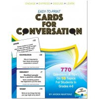 Easy-to-Print Cards for Conversation with CD