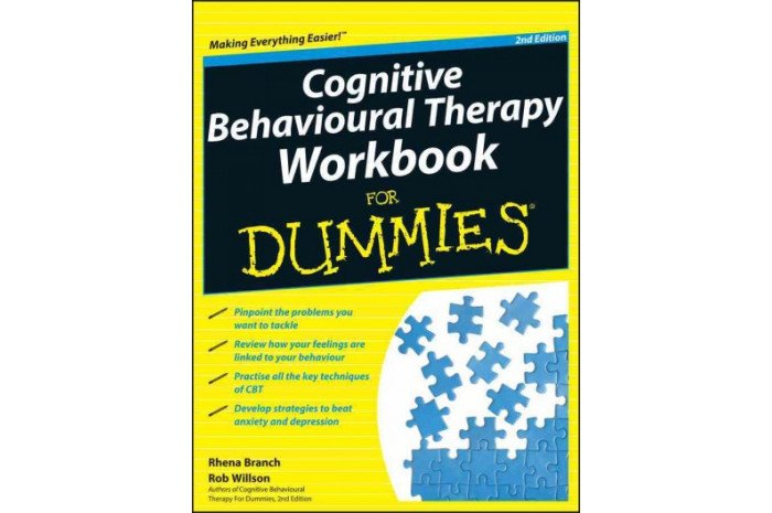 Cognitive Behavioural Therapy Workbook for Dummies