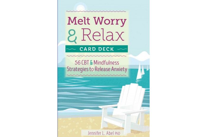 Melt Worry and Relax Card Deck: CBT & Mindfulness Strategies to Release Anxiety