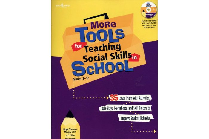 More Tools for Teaching Social Skills in School w/CD: Grades 3-12