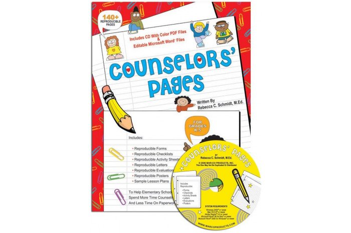 Counselors' Pages with CD