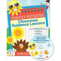 Monthly Motivating Classroom Guidance Lessons with CD (K-5)