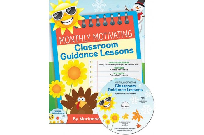 Monthly Motivating Classroom Guidance Lessons (K-5)