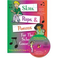 Skits Raps & Poems for the School Counselor with CD (Grades 4-8)