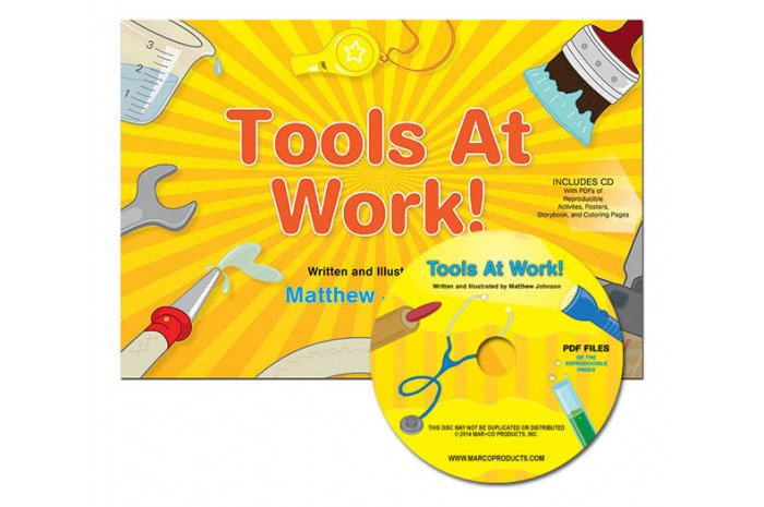 Tools at Work: Teaching Children About Different Careers w/ CD
