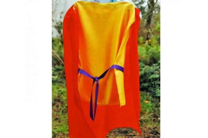 Red & Gold Knight Tunic