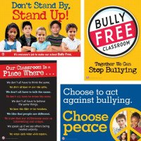 Bully Free Classroom Elementary School Poster Set