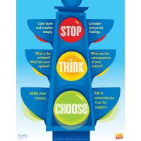 Stop Think Choose Poster