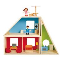 Geometric Dollhouse (Furnished)