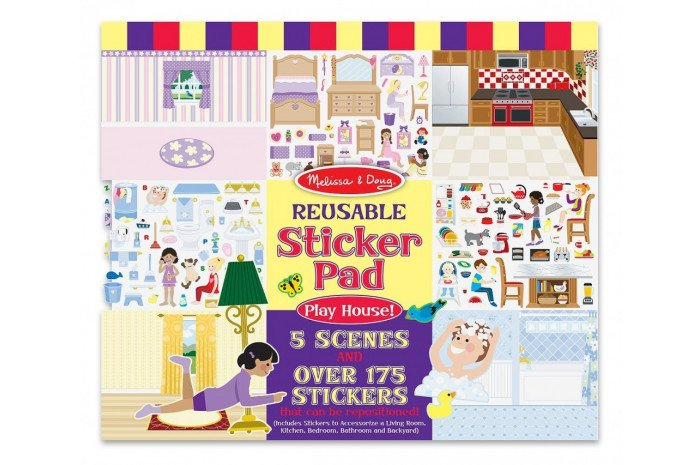 Play House Reusable Cling-on Pad