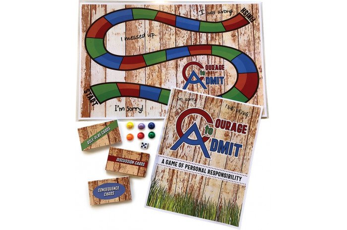 Courage to Admit Board Game