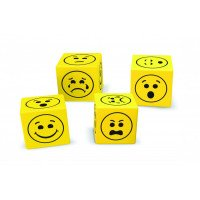 Foam Emoji Dice (200 pieces)