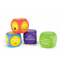 Soft Foam Emoji Cubes (set of 4)