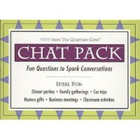Chat Pack: Fun Questions to Spark Conversations Card Deck