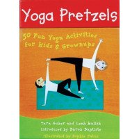 Yoga Pretzels: 50 Fun Yoga Activities for Kids & Grownups Card Deck