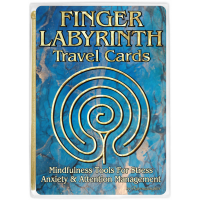 Finger Labyrinth Travel Cards (21 Cards)
