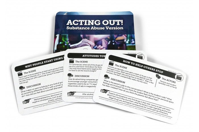 Acting Out! Card Deck - Substance Abuse Version