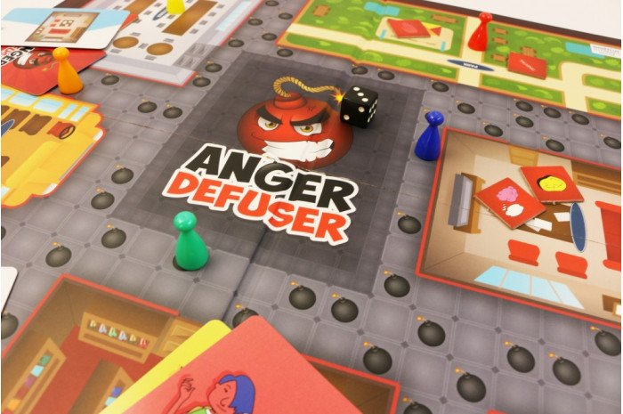 Anger Defuser: The Fun Anger Control Game for Kids and Teens (Updated Version 2.0)