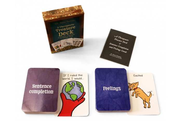 A Therapeutic Treasure Deck of Feelings and Sentence Completion Cards