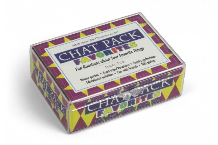 Chat Pack: Favorites Card Deck