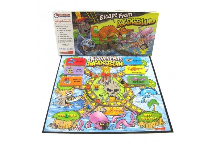 Escape From Anger Island Board Game