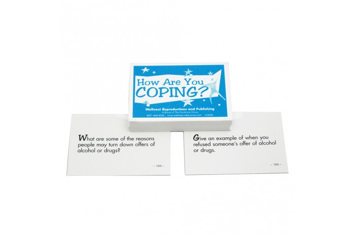 How Are You Coping? Coping Skills Group Cards