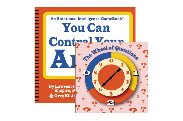 You Can Control Your Anger Spinner Game Book