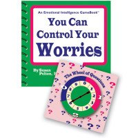 You Can Control Your Worries Spinner Game Book
