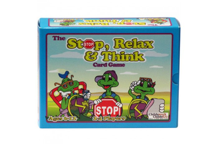 The Stop Relax & Think Card Game
