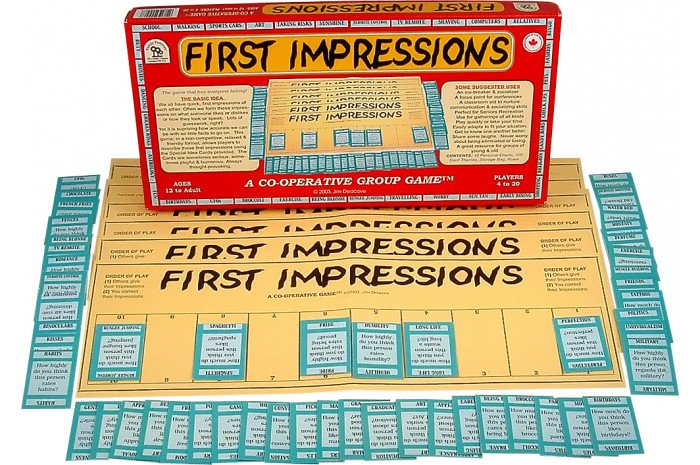 First Impressions: A Cooperative Group Game