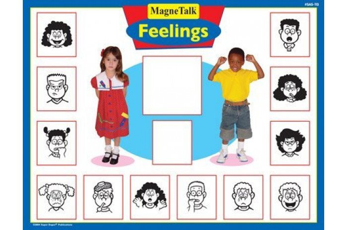 MagnaTalk Feelings Magnetic Board Game