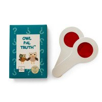 Owl Pal Truth: Therapeutic Card Game for Abused Children (English/Spanish Combo)
