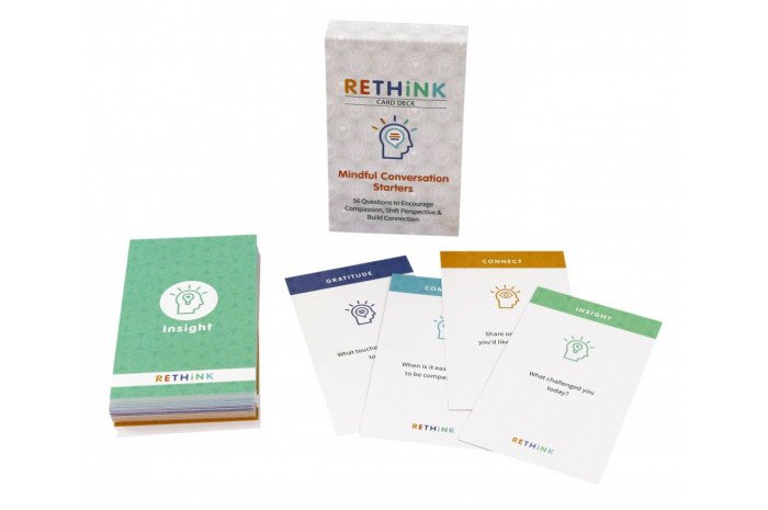 RETHiNK Card Deck: Mindful Conversation Starters
